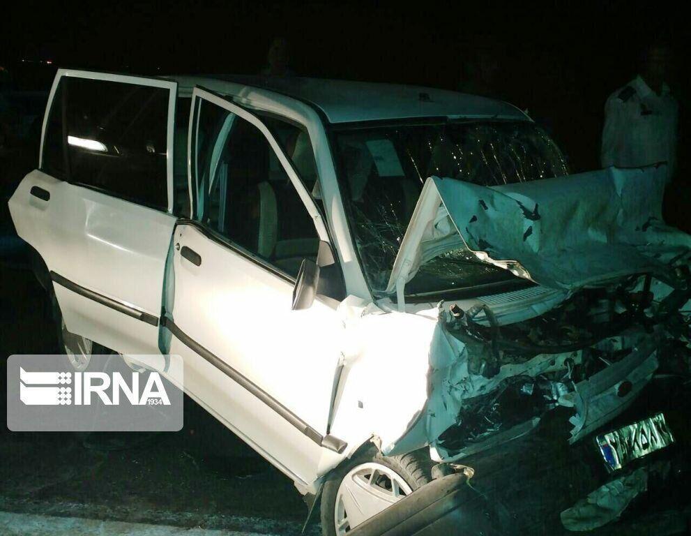 خبرنگاران تصادف در جاده کرج - چالوس پنج مصدوم برجای گذاشت