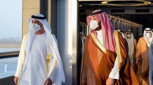 دیدار ولیعهد امارات با بن سلمان در جده